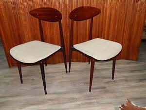Credenza Danese Anni 50 : Coppia di sedie danesi anni 50 60 design haga fors ebay