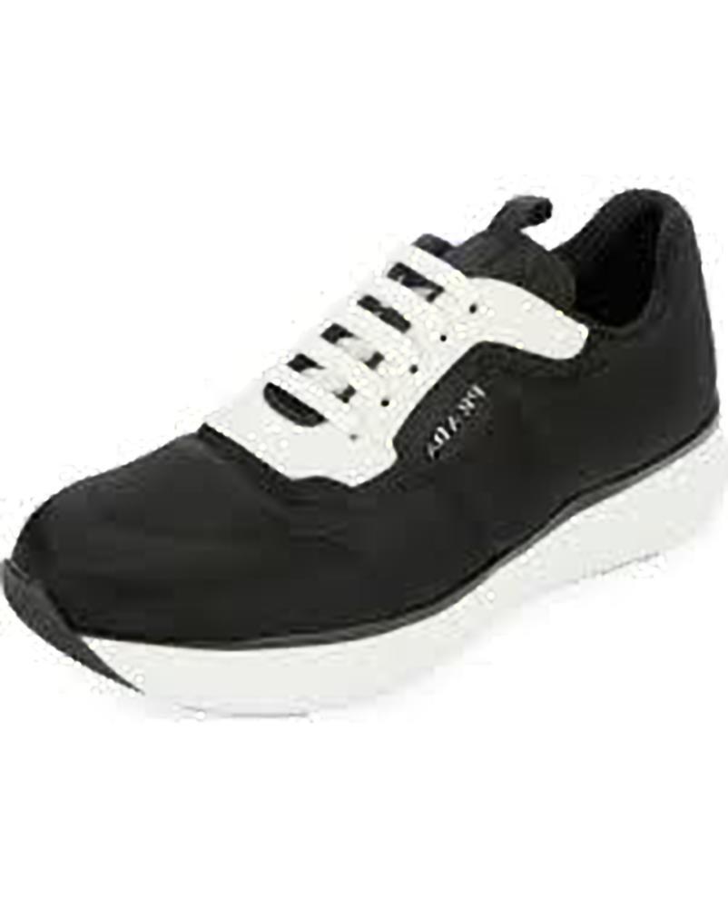 Prada entrenador de plataforma de nylon nylon nylon de dos tonos Zapatillas Negro 39 MSRP   570.00  opciones a bajo precio