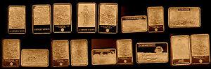 COLLECTION DE 10 LINGOTS PL. BRONZE : THEME NAPOLEON - France - EBay MAGNIFIQUE COLLECTION DE 10 LINGOTS PLAQUES BRONZE REPRESENTANT NAPOLEON En Parfait état, chaque lingotin sous capsule plastifiée mesure 44mm28mm3mm Chaque lot est composé 10 lingots plaqués bronze de : - 1 lingot Napoléon devant le sph - France