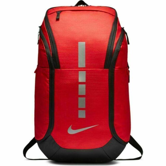 Nike Hoops Elite Pro Basketball Backpack Red Silver BA5990 657