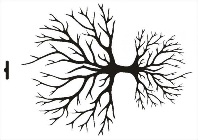 Stencil W-326 Tree of Life ~ UMR Wall Stencil