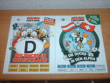 Comics Micky Maus EDITION Band 1 und 2 DIE DUCKS IN DEUTSCHLAND  & IN DEN ALPEN