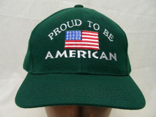 Verde Bordado Gorra Ajustable American Be To Proud Pelota xOZAO