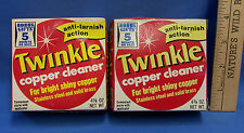 Vintage Twinkle Copper Brass & Stainless Steel Polisher Kit 1973 Lot of 2