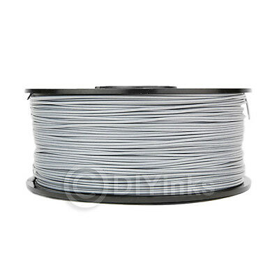 Computers/tablets & Networking 3d Printers & Supplies Light Grey Abs 3.0mm Wyzworks 3d Printer Premium Filament 1kg/2.2lb Do You Want To Buy Some Chinese Native Produce?