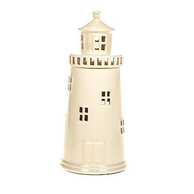 LIGHTHOUSE TABLE DESK LAMP CERAMIC NAUTICAL THEME BEDSIDE LOUNGE LIGHT HOME GIFT