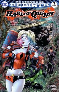 DC-Harley-Quinn-Rebirth-1-RodMan-Comics-Ed-Benes-Colour-Variant-Free-UK-Postage