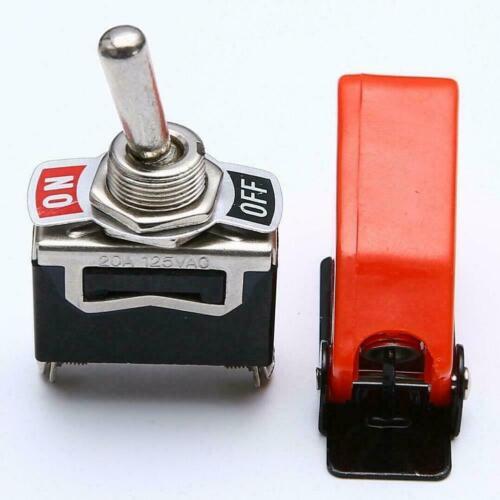 Robustes EIN AUS-SPST-Kippschalter-Metallhebel-Auto-Armaturenbrettlicht H T6F9