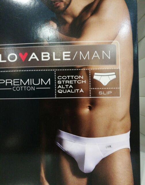 Intimo Uomo LOVABLE Premium Stretch Slip in Cottone