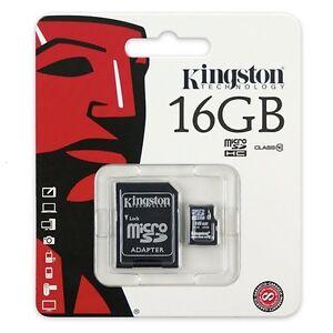 16gb sd karte 16 GB SDHC Micro SD Karte Kingston 16GB Class Klasse 10 mikro