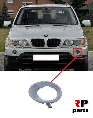 FOR BMW X5 SERIES E53 99-03 NEW FRONT BUMPER TOW HOOK EYE COVER CAP LEFT N//S