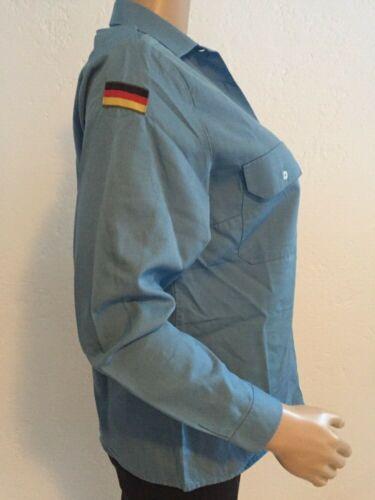 Bundeswehr Femmes Femmes Femme Marine Matelot-chemise chemisier avec drapeau bleu Orig