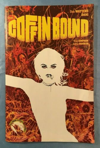 COFFIN BOUND #1-4 FIRST PRINTS COMPLETE STORY UNREAD NM IMAGE COMICS