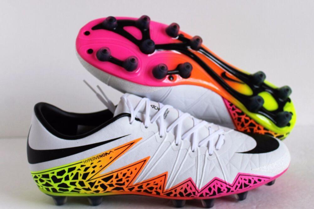 Nike Hypervenom Phinish HG-E Soccer Football Cleats Bottes Shoes Chaussures de sport pour hommes et femmes