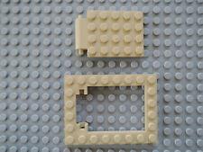 1x Lego Segel Plastik beige tan Cobra Kopf Hieroglyphen 853175 7325 93668