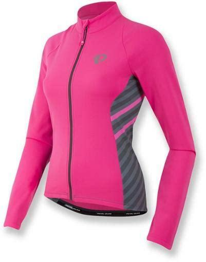 Pearl Izumi Women's Select Pursuit Thermal Jersey, Pink, Medium