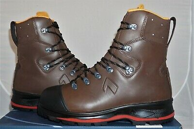 Haix Protector Ultra 2.0 UK 8 EU 42 US 9 Schnittschutzstiefel Leder Schuhe NEU!