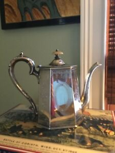 Image Is Loading Gorgeous Silver Coffee Pot Federal Style C1790 Old