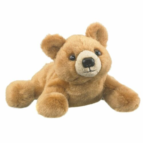 """7/"""" Grizzly Bear Play... Wildlife Artists Grizzly Bear Plush Finger Puppet Toy"""