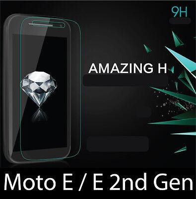 3x Clear LCD Screen Protector Guard Verizon Motorola Moto E LTE 2nd Gen XT1528