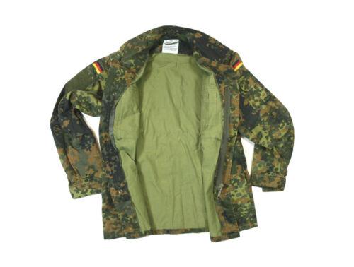 BW ORIGINAL BUNDESWEHR FELDBLUSE FLECKTARN NATO MILITARY ANGELN BLUSE GOTCHA