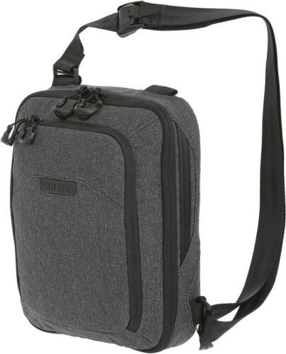 Maxpedition Entity Tech Sling Bag Small Charcoal Heathered Fabric NTTSLTSCH