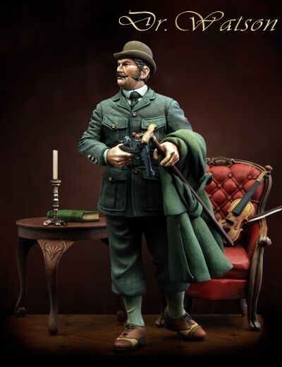 Scale 75 Dr Watson 75mm Metal Unpainted Kit