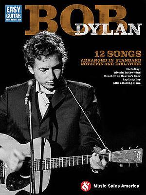 Bob Dylan Easy Guitar Sheet Music Easy Guitar Book NEW 014042809