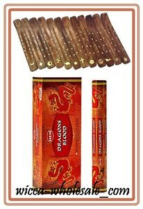 LOT OF 120 Sticks DRAGONS BLOOD Incense  1 Box 6 TUBE OF 20 Sticks FRESH STOCK