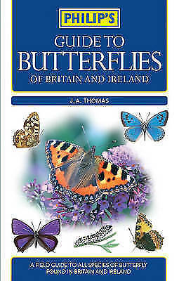 Philip's Guide to Butterflies of Britain and Ireland-ExLibrary