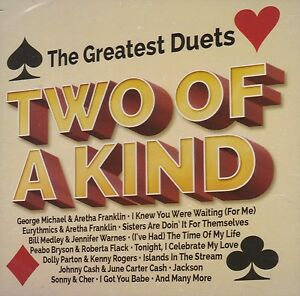 BRAND-NEW-2CD-THE-GREATEST-DUETS-TWO-OF-A-KIND-VARIOUS-ARTISTS