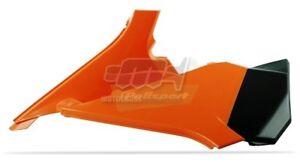 POLISPORT-COPERCHIO-LATERALI-CASSA-FILTRO-AIRBOX-ARANCIONE-KTM-125-SX-2012