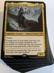 Custom-Commander-Deck-Kess-Dissident-Mage-Infinite-Combos-Magic-Cards