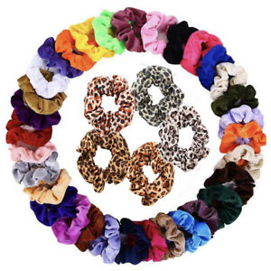 20-pack-hair-scrunchies-velvet-scrunchy-bobbles-elastic-hair-bands-holder-uk by ebay-seller