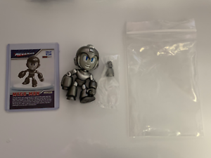 The Loyal Subjects Mega Man Metallic Grayscale Mega Man Hot Topic Exclusive