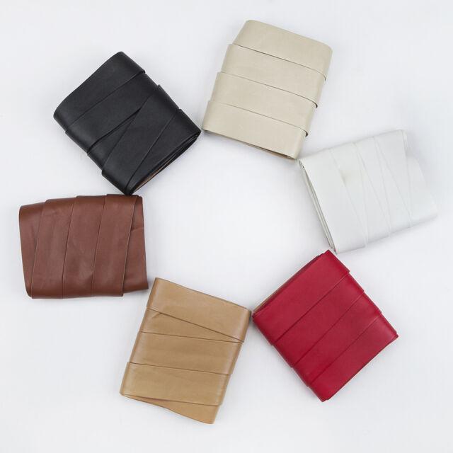 Neotrims PU Faux Imitation Leather Tape Trimming Ribbon Coach Pram Strap Strip