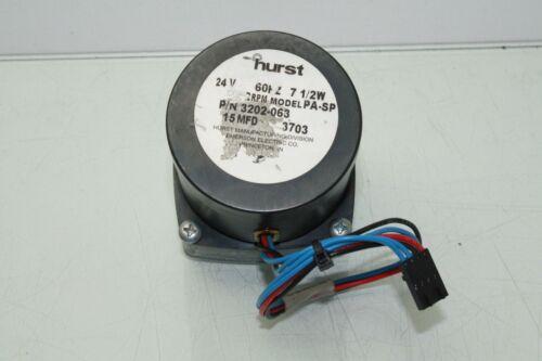 Hurst 3202-063 Synchronous AC Gear Motor 24V AC 7.5W Model PA-SP Speed 2 RPM
