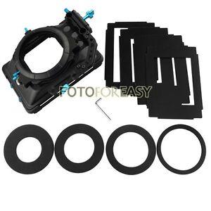FOTGA-DP3000-PRO-Swing-away-Matte-Box-4-3-16-9-Ratio-Masks-for-15mm-Rod-DSLR-Rig