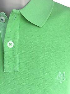 Herrenmode-Herren-Marc-OPolo-Poloshirt-Regular-Fit-Garment-Dyed-Farbe-Mint-Gr-M