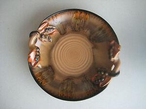 Antike Keramik Obstschale, Gebäckschale mit Laufglasur - bei Nürnberg, Deutschland - Antike Keramik Obstschale, Gebäckschale mit Laufglasur - bei Nürnberg, Deutschland