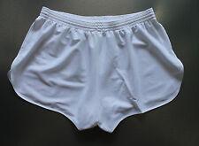 Frz. Vintage Shorts Gr.L NEU Sporthose Short Sport Nylon Glanz shiny weiss #