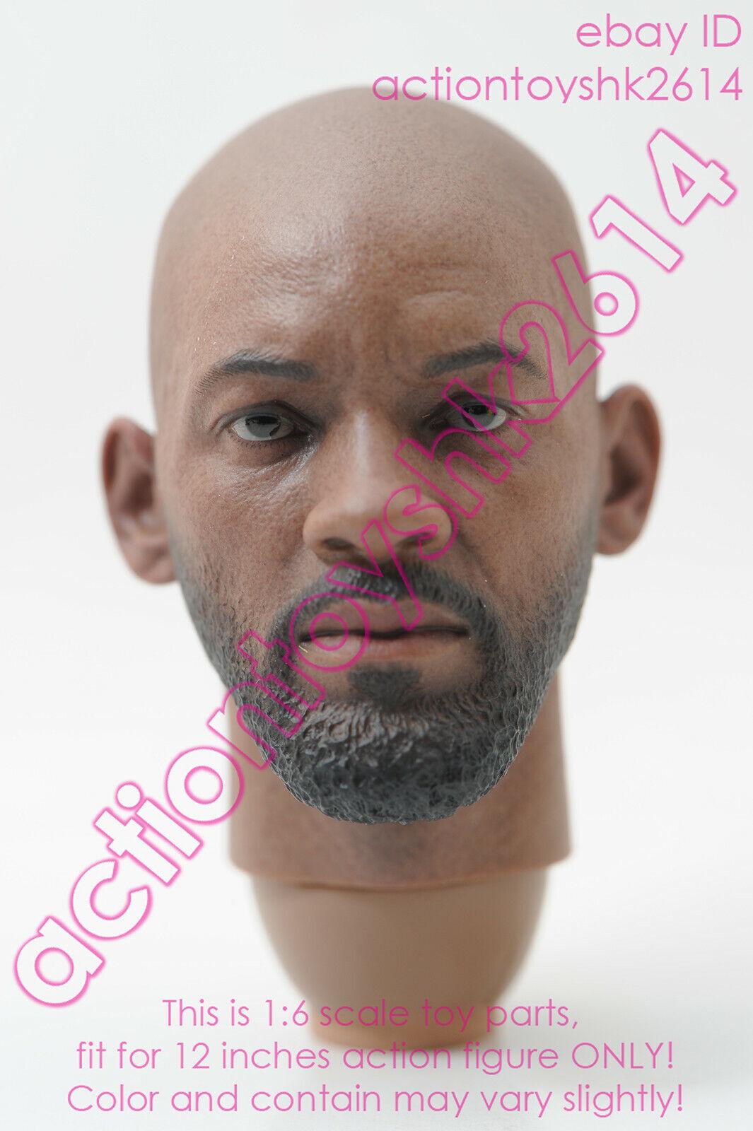 Escala 1 6 Hot Toys MMS381 suicidio escuadrón Deadshot-cabeza esculpida de