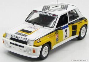 Renault 5 Turbo Rallye Tour Auto Gagnant Ragnotti 1/18 Uh Universal Hobbies en boîte