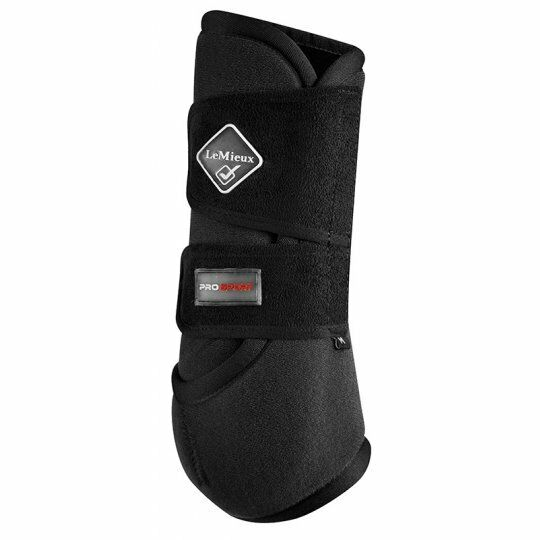 LeMieux prosport brushing boots support medicine style    wraps front or hind  40% off