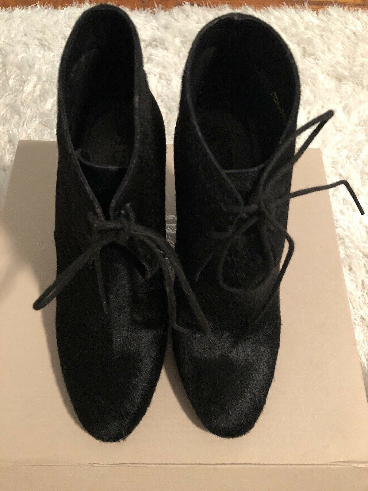 Man's/Woman's Burberry booties black size 38 New product excellent Clearance sale