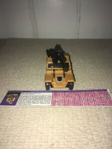 Vintage G1 Transformers Combaticon Swindle Cannon