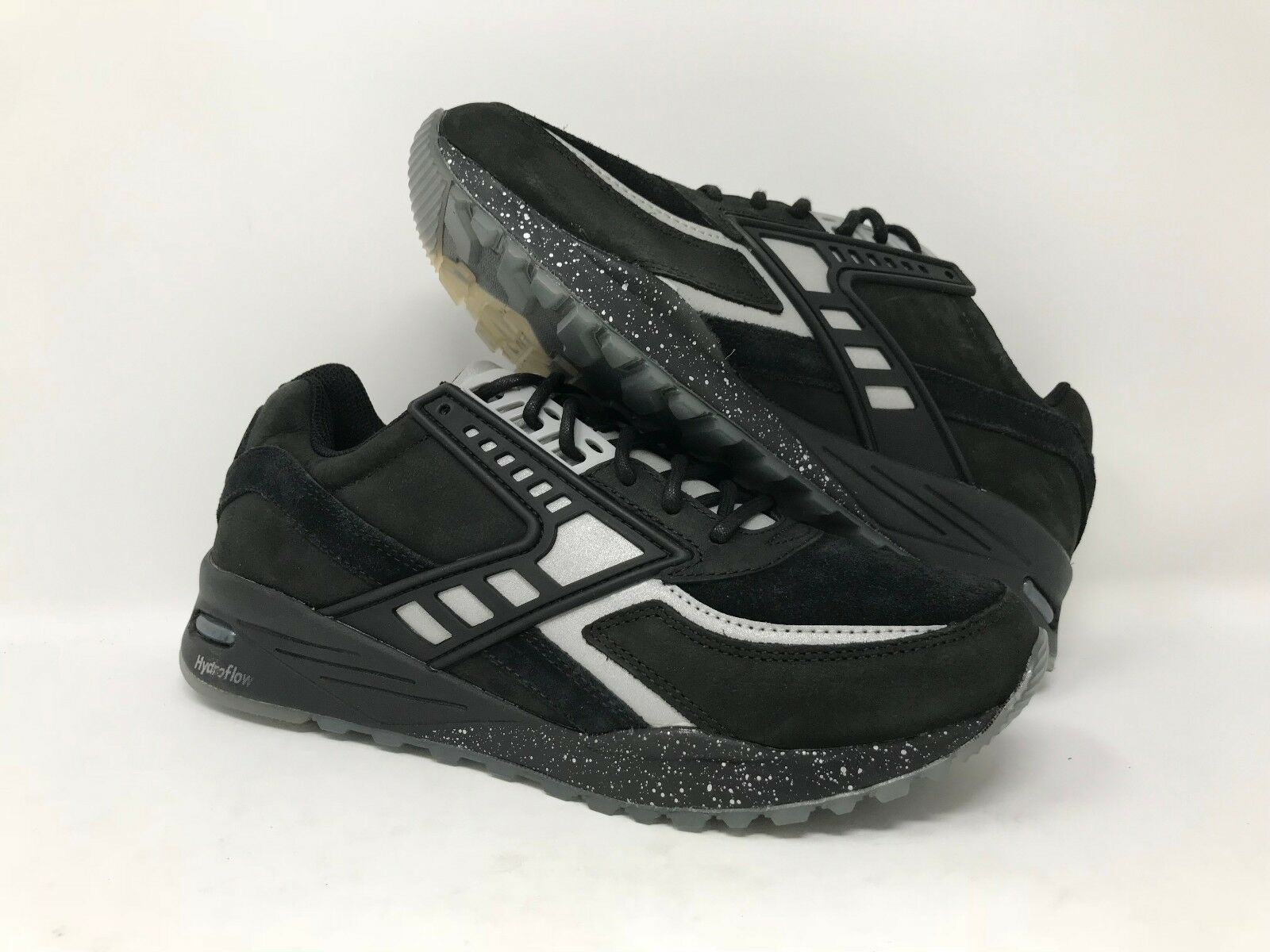 BROOKS FAIRPLAY BATTLE OF LOS ANGELES BLACK REFLECTIVE MEN'S SIZE 9 WOB
