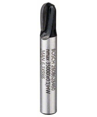 Bosch hohlkehlfräser 6 mm L 9,1 mm G 40 mm r1 3.2 mm d 6.35 mm