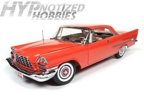 Autoworld 1 18 Americano Músculo 1957 Chrysler 300c Die-Cast red Amm1110
