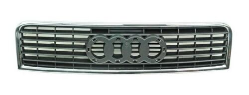 AUDI A4 B6 2001-2005 Front Hood Grill Center Grille With Chrome Trim